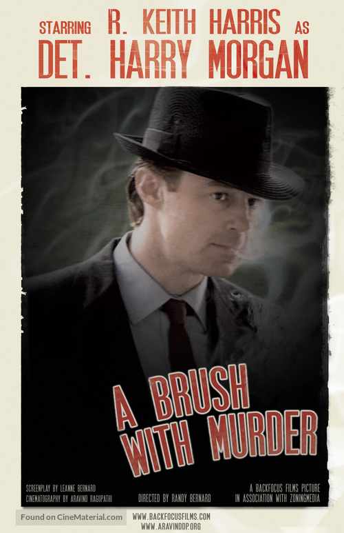 A Brush with Murder - Movie Poster