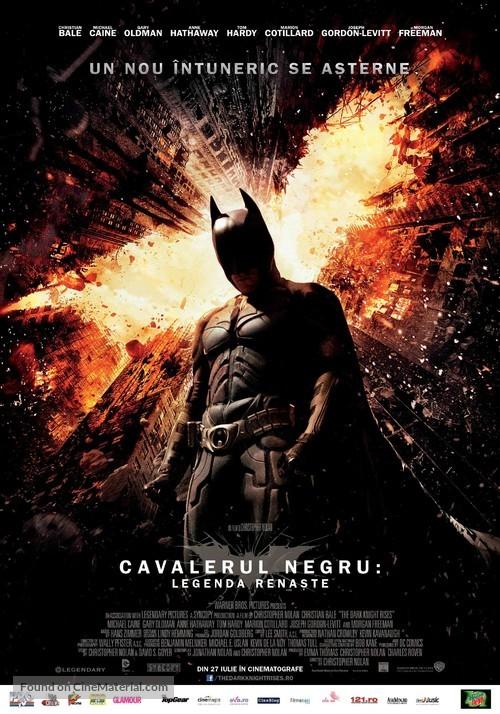 The Dark Knight Rises - Romanian Movie Poster