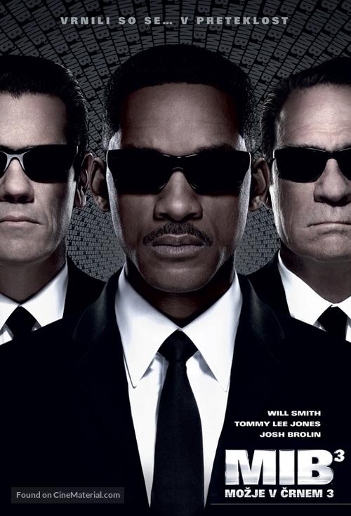 Men in Black 3 - Slovenian Movie Poster
