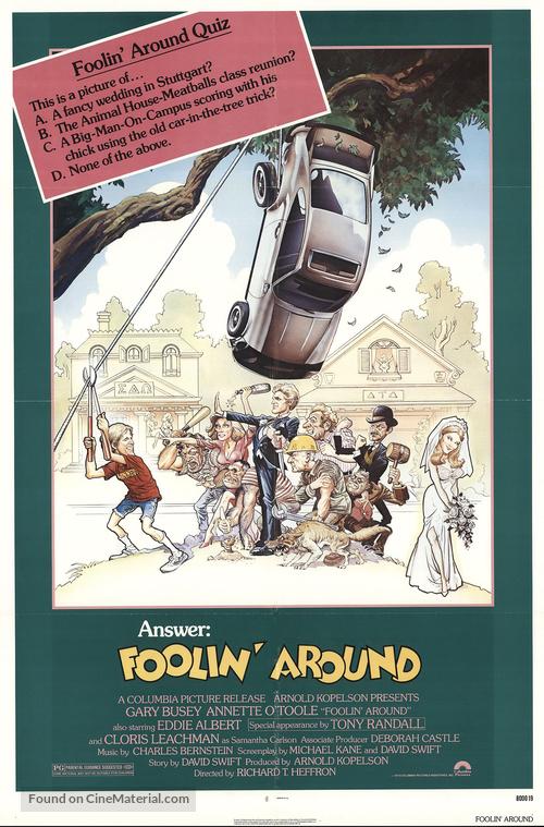 Foolin' Around - Movie Poster