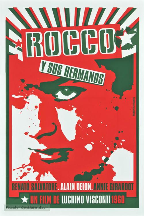 Rocco e i suoi fratelli - Cuban Movie Poster