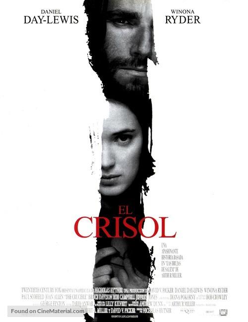The Crucible - Spanish Movie Poster