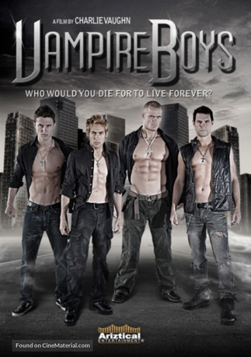 Vampire Boys - DVD cover