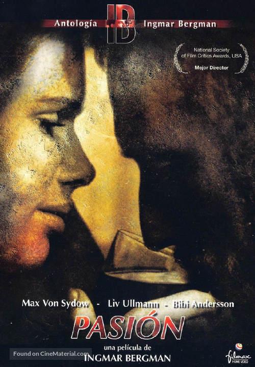 En passion - Spanish DVD cover