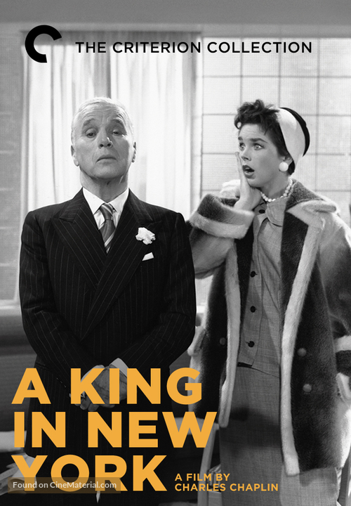 A King in New York - DVD movie cover