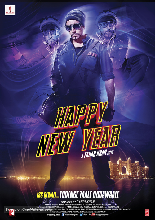 Happy New Year Movie Poster 28
