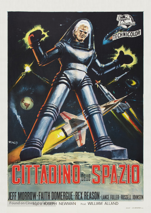 This Island Earth - Italian Theatrical movie poster