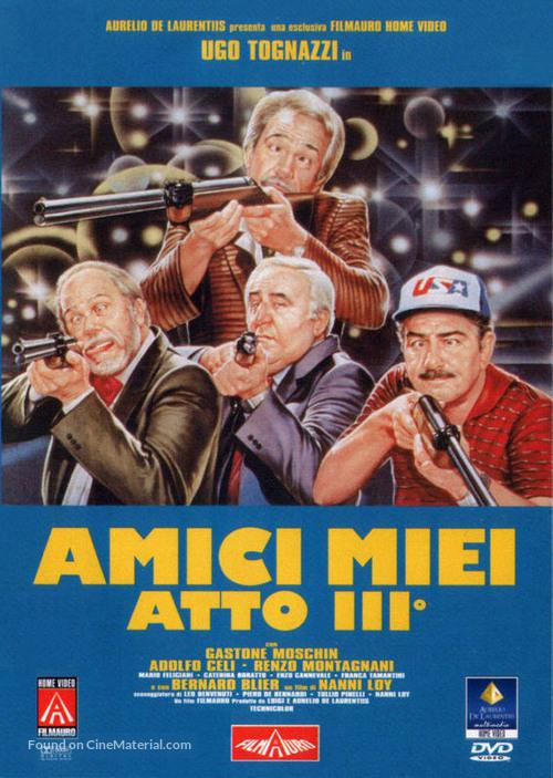 Amici miei atto III - Italian DVD cover