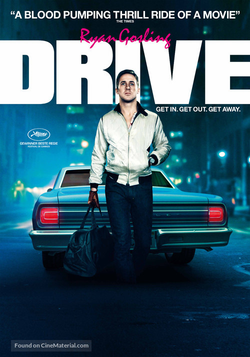 Drive - Swiss Never printed poster