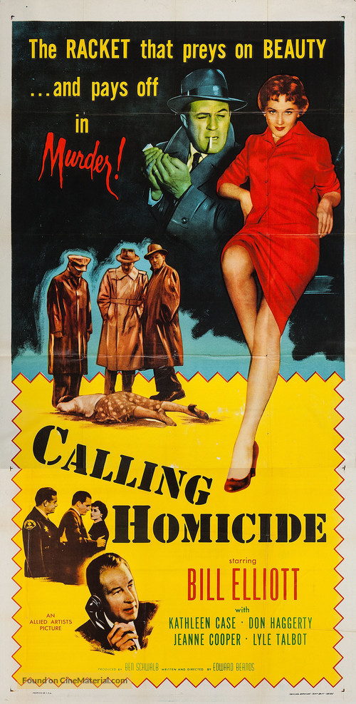 Calling Homicide - Movie Poster