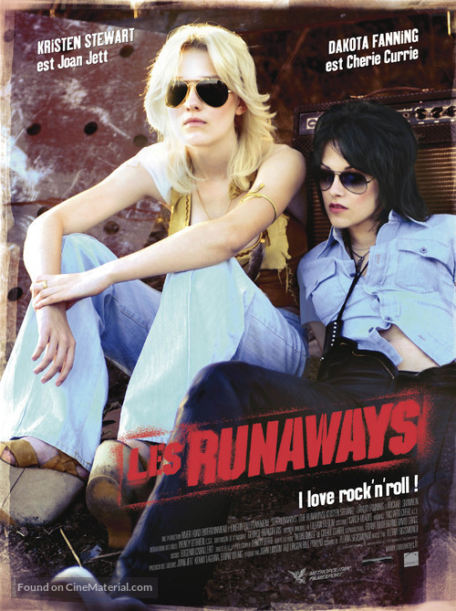The Runaways - French Movie Poster