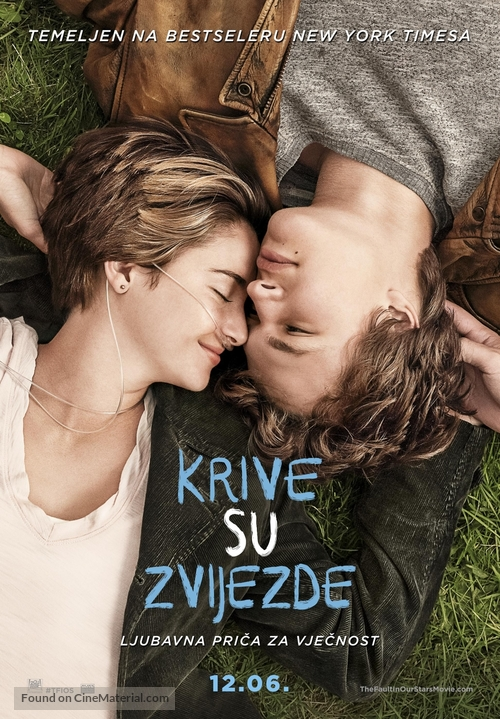 The Fault in Our Stars - Bosnian Movie Poster
