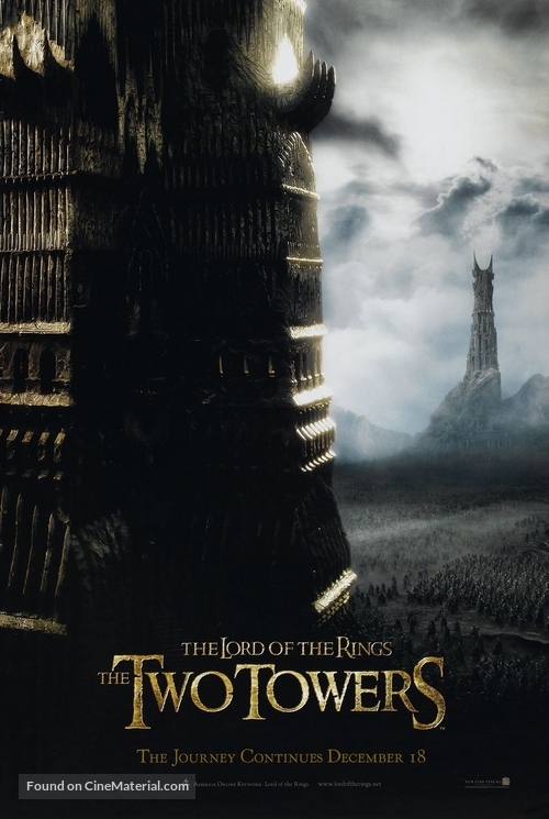 The Lord of the Rings: The Two Towers - Teaser poster