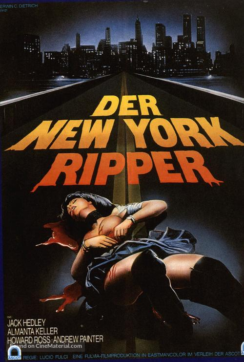 Lo squartatore di New York - German Movie Poster