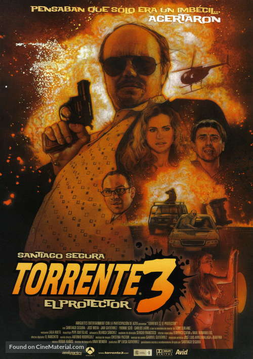 Torrente 3: El protector - Spanish Movie Poster