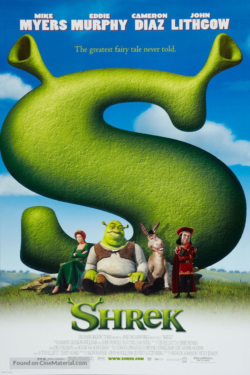 Shrek - Movie Poster