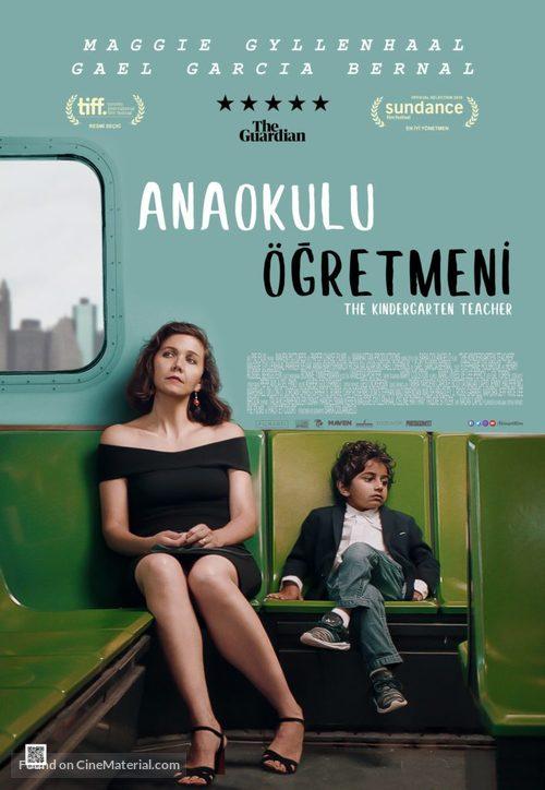 The Kindergarten Teacher - Turkish Movie Poster