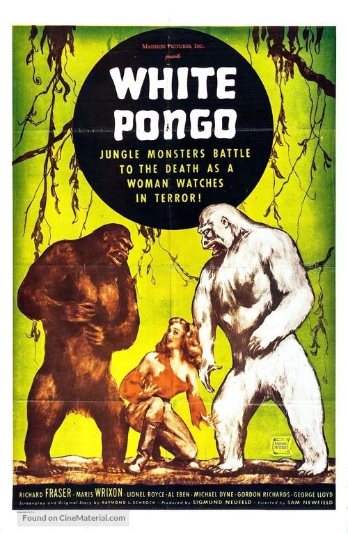 White Pongo - Movie Poster