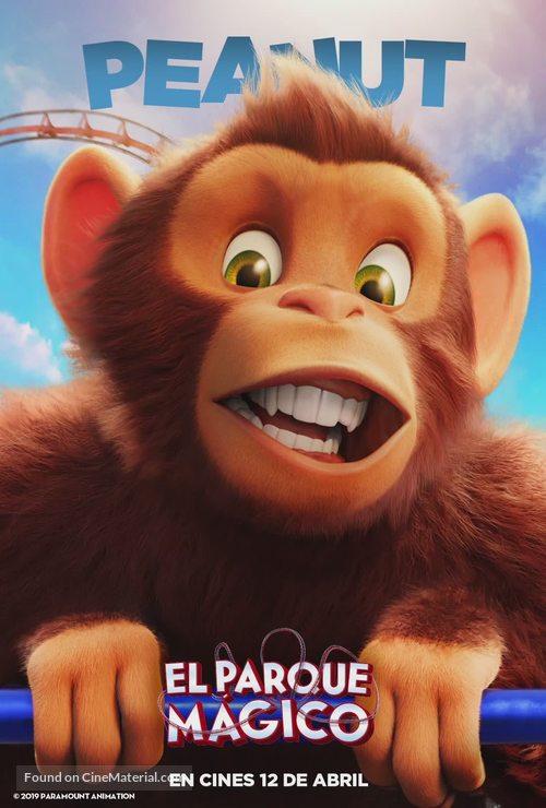 Wonder Park - Spanish Movie Poster