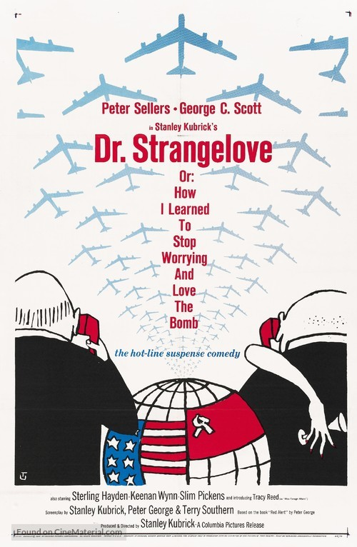 Dr. Strangelove - Movie Poster