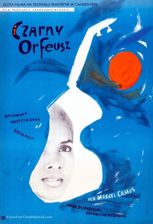 Orfeu Negro - Polish Movie Poster