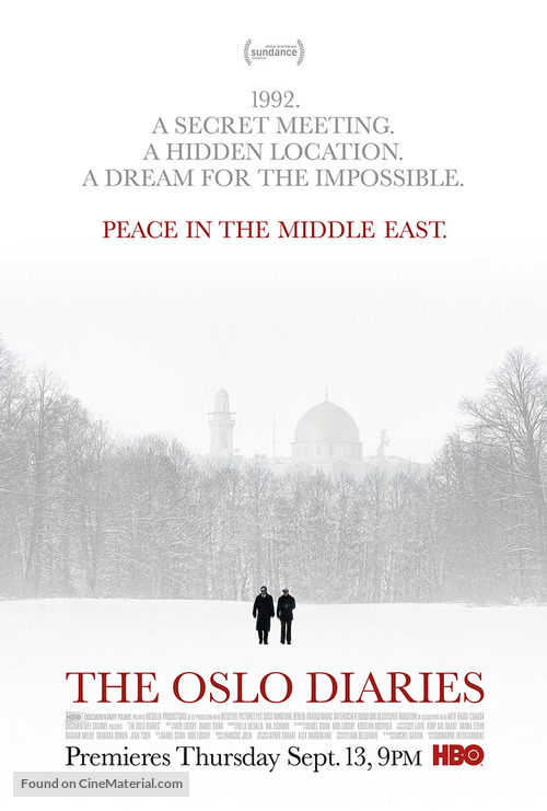 The Oslo Diaries - Movie Poster