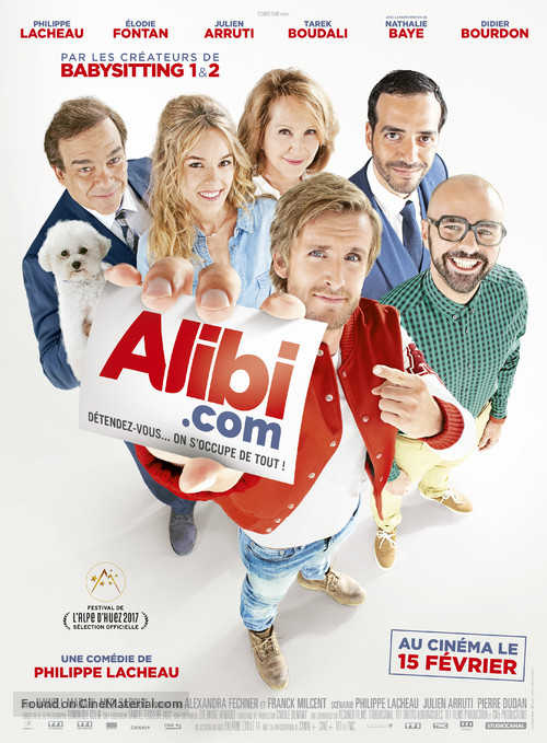 Alibi.com - French Movie Poster