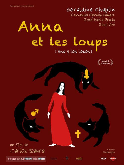 Ana y los lobos - French Movie Poster
