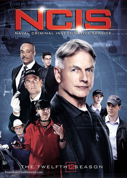 """Navy NCIS: Naval Criminal Investigative Service"" - DVD movie cover"