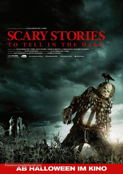 Scary Stories to Tell in the Dark - German Movie Poster