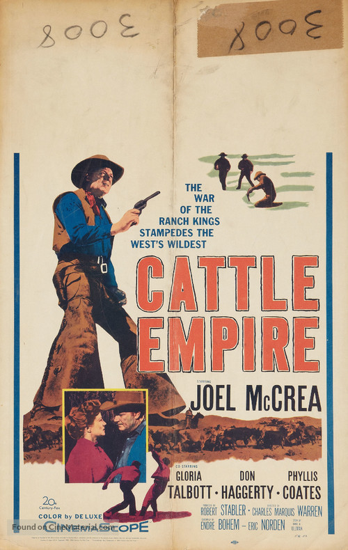 Cattle Empire - Movie Poster