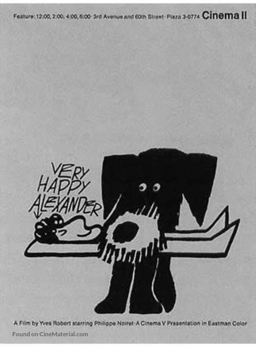 Alexandre le bienheureux - Movie Poster