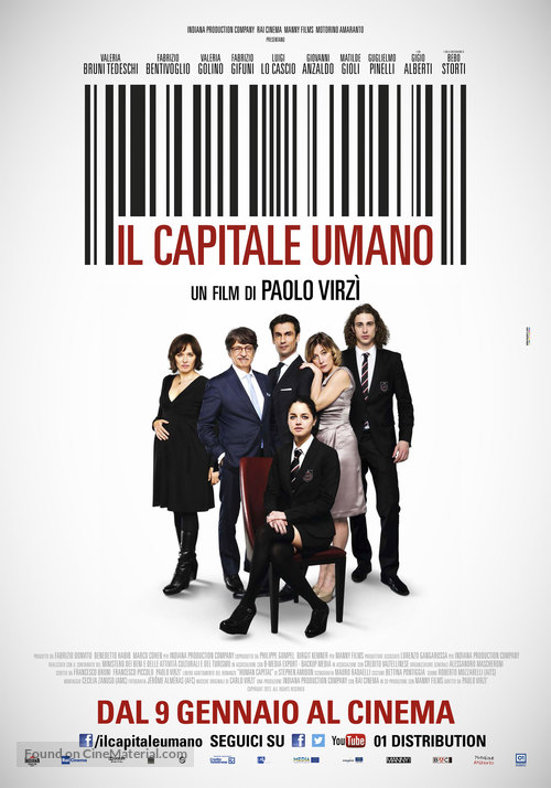 Il capitale umano - Italian Movie Poster
