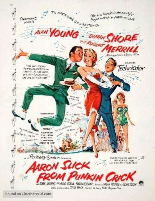 Aaron Slick from Punkin Crick - Movie Poster