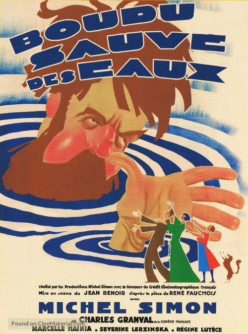 Boudu sauvé des eaux - French Movie Poster