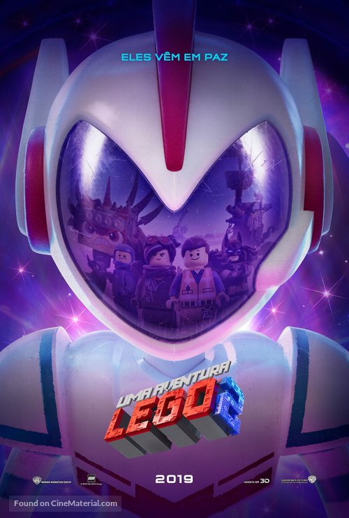 The Lego Movie 2: The Second Part - Brazilian Movie Poster