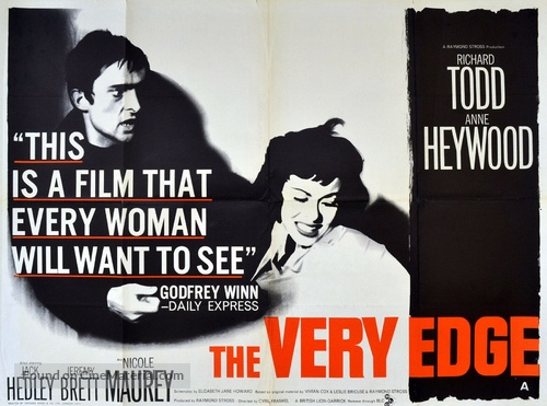 The Very Edge - British Movie Poster