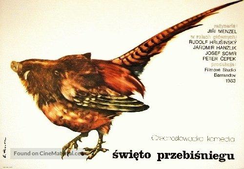 Slavnosti snezenek - Polish Movie Poster