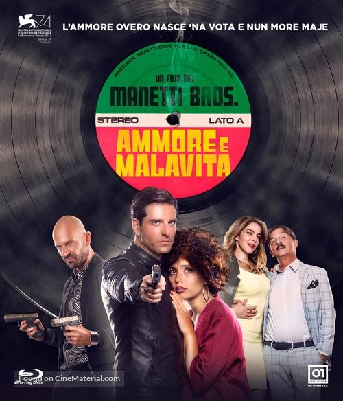 Ammore e malavita - Italian Blu-Ray cover