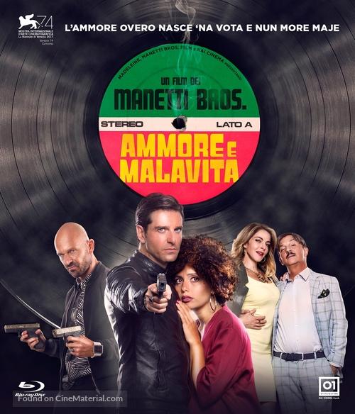 Ammore e malavita - Italian Blu-Ray movie cover