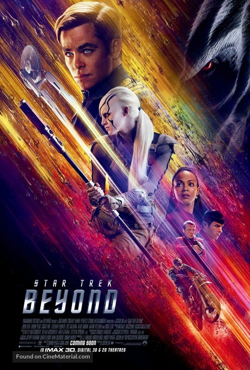 Star Trek Beyond - Movie Poster