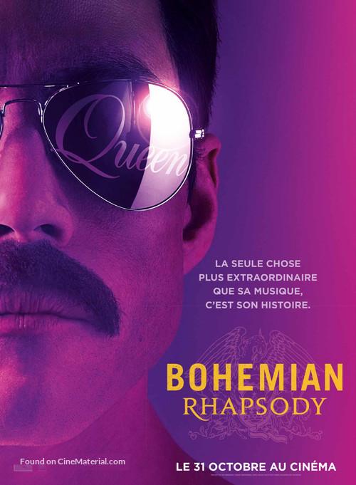 Bohemian Rhapsody - French Movie Poster