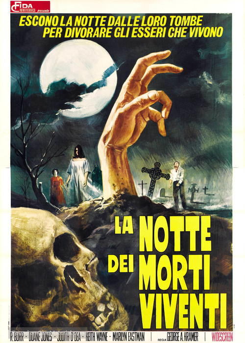 Night of the Living Dead - Italian Movie Poster