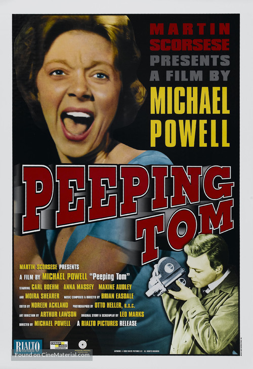 Peeping Tom - Movie Poster