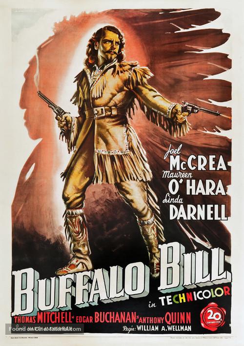 Buffalo Bill - Italian Movie Poster