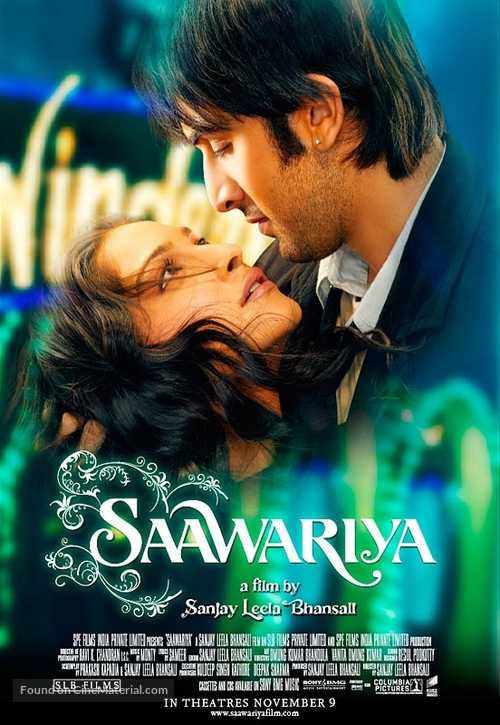 Saawariya - Indian Movie Poster