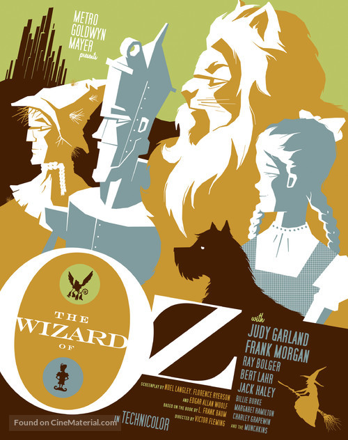 The Wizard of Oz - Homage movie poster