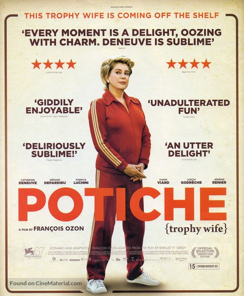 Potiche - British Movie Poster
