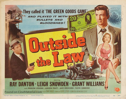 Outside the Law - Movie Poster