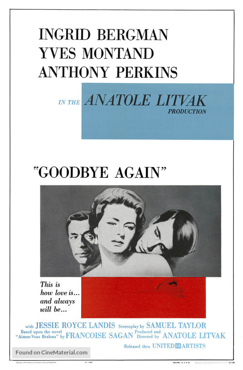 Goodbye Again - Movie Poster